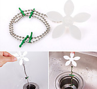 1Pcs Sink Cleaning Household Products Practical Hair Sweeper Sewer Cleaner Hair Drain Wig