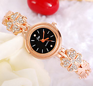 Ladies Watch Beautiful Korean Fashion Heart-Shaped Diamond Surface Flower Watch Cool Watches Unique Watches