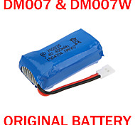 Brand 100% Original DM007 RC Part 400mAh 25C Lipo Battery 7.4V for DM007 DM007W RC Quadcopter drone Parts