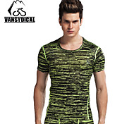 Vansydical Men's Quick Dry Fitness Tops - JSY-2015014