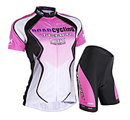 NUCKILY Cycling Clothing Sets/Suits Women's / Unisex BikeWaterproof / Breathable / Ultraviolet Resistant / Waterproof Zipper / Front