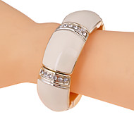 Fashion With Six Rows Drill  Baking Varnish Bracelet