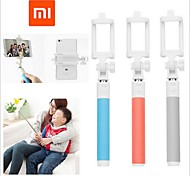 Xiaomi ®selfie palillo titular monopod extensible obturador bluetooth mano con palos clip de selfie para universales
