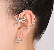New Arrival Fashional Simple Bow Earhook Earring
