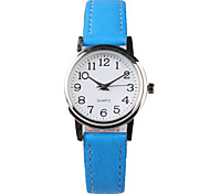Fashion Beautiful Blue Belt Women's Watch Cool Watches Unique Watches