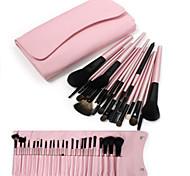 23pcs Professional Cosmetic Makeup Make up Brush Brushes Set Kit with Pink Bag Case