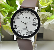 new fashion 2016  brand leather women ladies casual wrist dress watch
