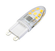 G9 Dimmable 3W 200lm 3000K/6500k 14x SMD 2835 LED Warm/Cool White Light Bulb(AC 220V)