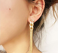 New Arrival Fashional Chain Tassel Earrings