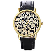 Man And Woman Wrist-Watches Fashion Characteristic Leopard Print Watch Wrist Watch Leather Watch Unique Men'S Watches