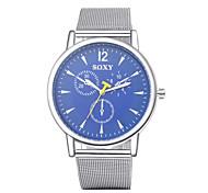 authentische Marke der Schweizer Uhren Herrenuhr 3 Sekunden-Platte aus Stahl mit Jungen Männer wasserdicht bis 3 Wahl Farbe wh0004