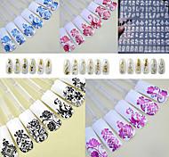1PCS - Autocollants 3D pour ongles / Bijoux pour ongles - Doigt - en Punk - 276mm*204mm