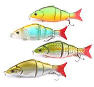 """Harte Fischköder / Schwimmköder / kleiner Fisch / Vibration / Ködertasche 21 g / 3/4 Unze , 120 mm / 4-3/4"""" Zoll 4 pcsSeefischerei /"""