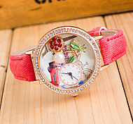 donna orologio da polso perla