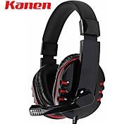 kanen km-790 Stereo-Kopfhörer-Headset mit Mikrofon Mikrofon für PC-Spieler