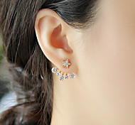 New Arrival Fashional Rhinestone Star Earrigns