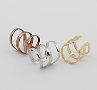 New Arrival Fashional Geometric Clip Earring