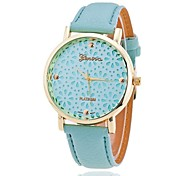 Xu™ Women's Fashion Hollow Out Small Chrysanthemum Quartz Watch Cool Watches Unique Watches
