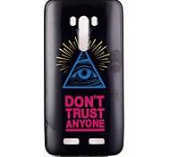 yeux couleur modèle TPU téléphone cas pour Zenfone 2 selfie zd551kl