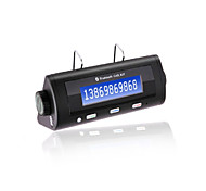 kit bt8106 kit mains libres bluetooth voiture, chargeur Bluetooth2.0 / voiture / 600mAh avec batterie li-ion
