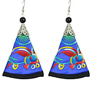 Bohemian Artificial Triangle Pendant New Model Earrings