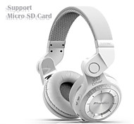 Bluedio T2+ Bluetooth Stereo Wireless headphones Built in Mic Micro-SD/FM Radio BT4.1 Over-ear Headphones