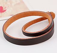 Twisting Snake Chain Cutting Belt Wrist Leather Bracelet 1pc