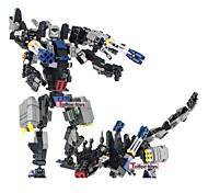 bloques de construcción de la película transfor bloques de construcción de juguete los niños de juguete juguetes robot vago 2en1 modelo