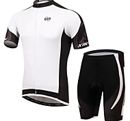 XINTOWN Ultraviolet Resistant Breathable Cycling Bike Bicycle Sports Clothing Short Sleeve Jersey Pants Wear Suit S-3XL