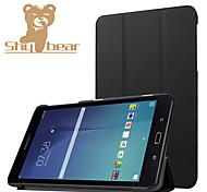 für Samsung Galaxy Tab e 8.0 t377v Luxus ultradünne PU-Leder Standplatz Fall, PU-Leder Schutzhülle Abdeckung