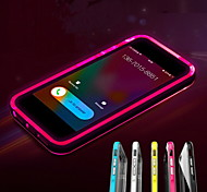 iphone 7 mais chamada levou piscar TPU volta caso da tampa transparente para iPhone 5 / 5s