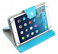 универсальный искусственная кожа стенд чехол для 7-дюймовый планшетный ПК чистого цвета