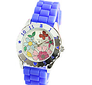 Decorated Silicone Jelly Watch Foreign Trade Fashion Watches Lovely Sweet Vogue Female Table Cool Watches Unique Watches