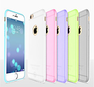 Hoco Colorful Ultra Thin Bumper Matte Sticking Soft Silicone Case Cover for Iphone 6/6S