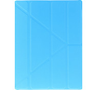 Classic Solid Color Origami Case for iPad 2/3/4