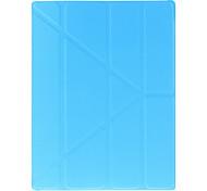 Классический сплошной цвет оригами случай Ipad 2/3/4