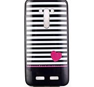 amo padrão de caixa do telefone TPU para zenfone 2 selfie zd551kl