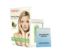 Avocado Face Hair Removal Wax Strips Easy Quick Effective