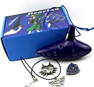 Mehre Accessoires Inspiriert von The Legend of Zelda Cosplay Anime/ Videospiel Cosplay Accessoires Mehre Accessoires TintenblauMann /