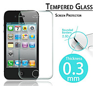 2.5D Premium Tempered Glass Screen Protective Film for iPhone 4/4S