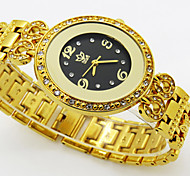Fashion Leisure Waterproof Diamond-Encrusted Bracelet Quartz Lady Watch