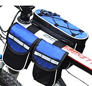 FJQXZ® Bike Bag 3LLBike Frame Bag Waterproof / Rain-Proof / Multifunctional Bicycle Bag Nylon Cycle Bag All Phones Cycling/Bike 25*17*7