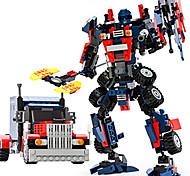 Autobot Model Assemble Bricks ToysGudi Building Blocks Movie Transfor Toy Robot Bum Toy Kids Toys Blebee 8713
