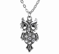 European And American Fashion Jewelry Personality Owl Necklace
