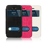 iCoverCase Flip Cover Leather Case with Stand for iPhone 5 5s
