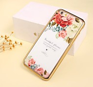 Decorative Pattern Electroplating Cell Phone Shell For Iphone 6Plus/6s Plus (Assorted Colors)