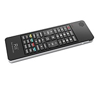 Rii 5 in 1 Mini Wireless Keyboard With Fly Mouse , IR Learning Remote Control-French