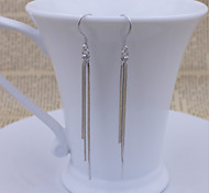 925 Sterling Silver fringe Earrings