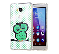 Dozing Owl Grainy Inner Shockproof Air as TPU soft shell cover Case for Huawei Honor 5X