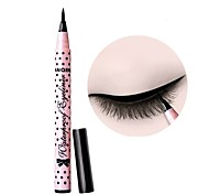 Eyeliner Waterproof Comestics Liquid Eye Liner Pencil Pen Make Up Beauty Fashionable Wave Point Long Lasting Smudge-Proof Black Liquid Eyeliner Pen